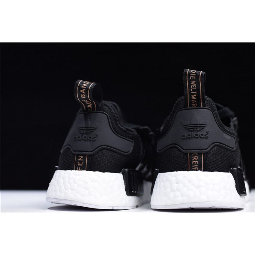 a16eca2771434 Adidas NMD R1 Black White S82269