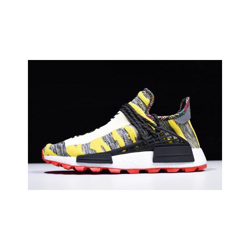 e31fc4f183001 2018 Pharrell x Adidas Afro NMD Hu Core Black Red BB9527