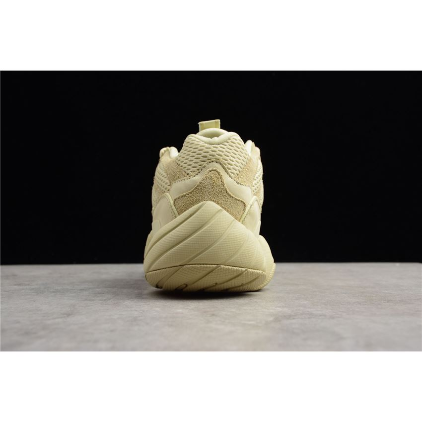 4c063c80621d0 Men s and Women s Adidas Yeezy 500 Desert Rat Super Moon Yellow ...