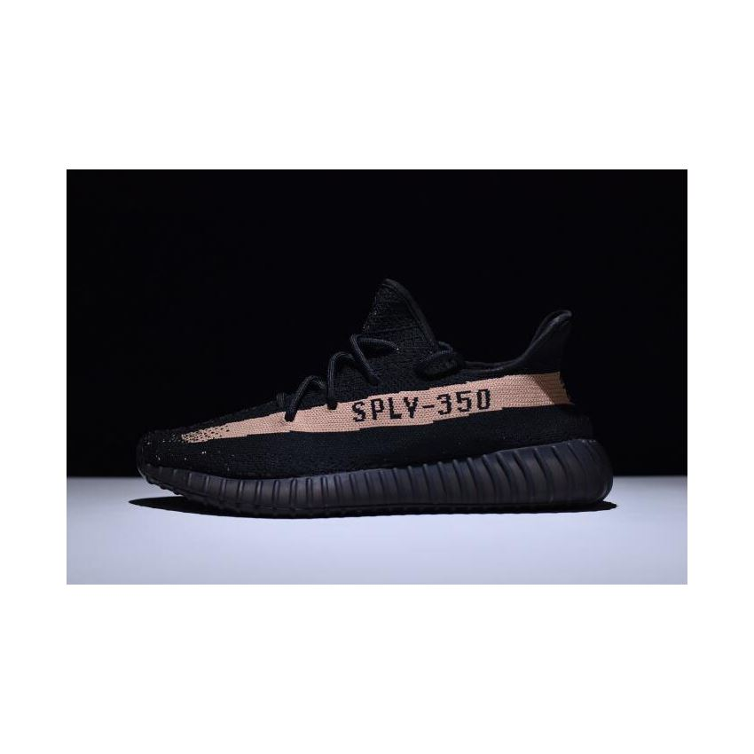 New Adidas Yeezy 350 Boost V2 BlackCopper Kanye West Shoes