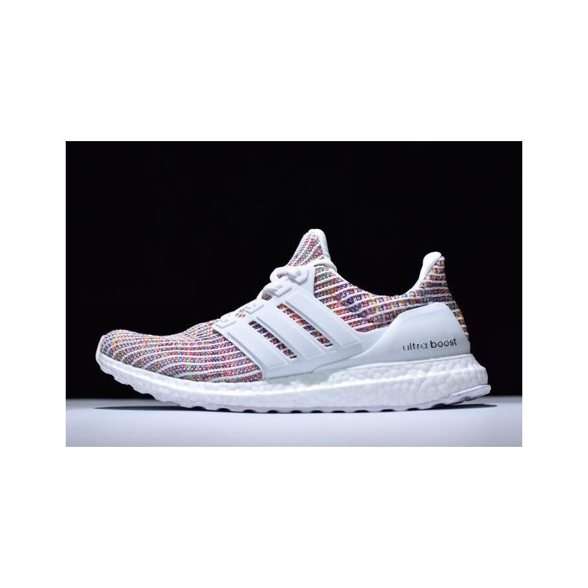 6392005acee New Adidas Ultra Boost 4.0 White Multi-Color BB8698