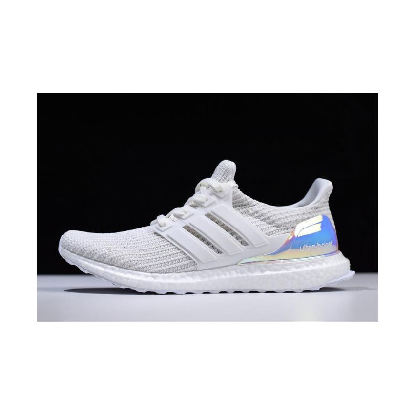 95eb4a109 Adidas Ultra Boost 4.0 Iridescent Triple White BY1756
