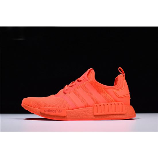 yeezy shoes, Adidas NMD R1 Monochrome Pack Solar RedSolar