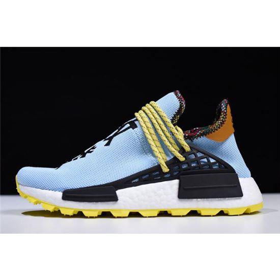 buy popular 39927 3777c Pharrell Williams x Adidas Hu NMD Inspiration Blue/Yellow ...