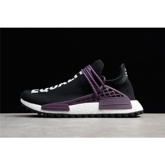 the best attitude b5335 4faf5 Pharrell x Adidas NMD Hu Trail Equality Core Black Deepest Purple-White  AC7033, Ultra Boost Adidas, Ultra Boost Adidas
