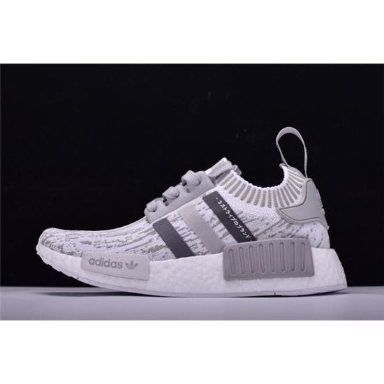 aa72ad61e New Adidas Originals NMD R1 Primeknit Grey Glitch Camo BY9865 ...